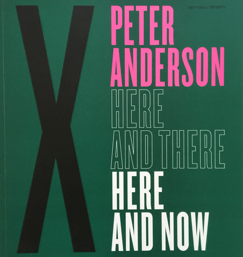 Peter Anderson. Here and There Here and Now
