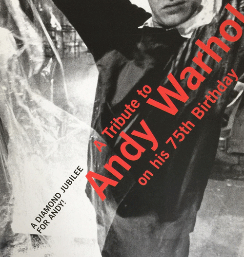 Andy Warhol and the Philosopher's Tome