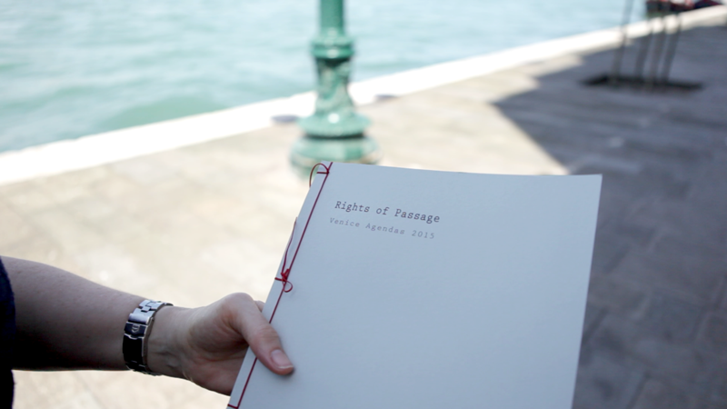 Rights of Passage. Limited edition book