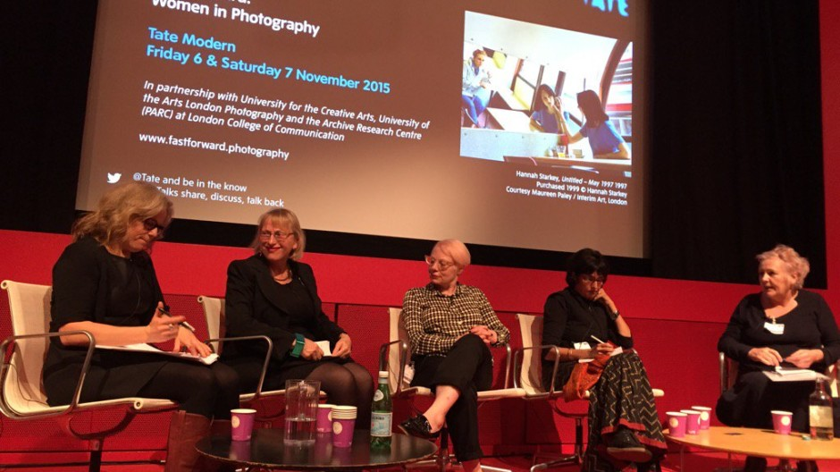 Presentation at Tate Conference 'Fast Forward: Women in Photography'